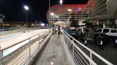 ABO DHABI F1 RACE 11