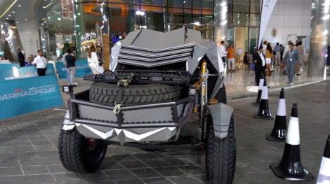ABO DHABI F1 RACE 3