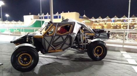 ABO DHABI F1 RACE 6