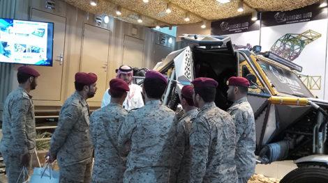AFED Saudi military expo 01