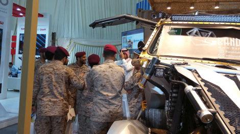 AFED Saudi military expo 02