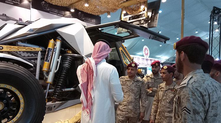 AFED Saudi military expo 03
