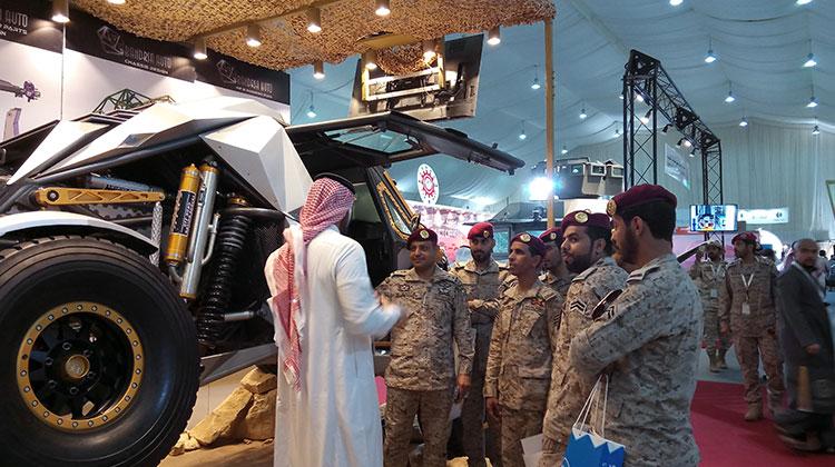 AFED Saudi military expo 04