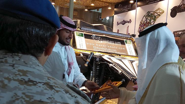 AFED Saudi military expo 06