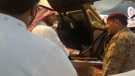 AFED Saudi military expo 07
